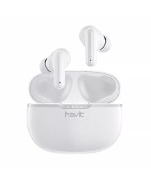 Беспроводная Bluetooth 5.0 гарнитура Havit I99 White спортивные наушники 7023-22322