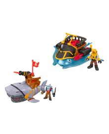 Игровой набор Imaginext Корабль-морское чудовище (в ассорт)