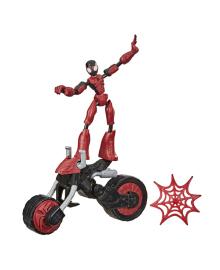 Фигурка Hasbro Spider-Man Человек-паук на мотоцикле