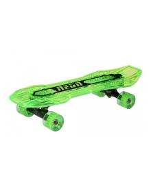 Скейтборд Neon Cruzer зеленый N100792