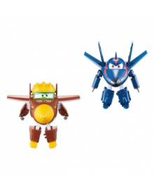 Трансформер Super Wings Todd & Agent Chace YW710661, 6911400363470