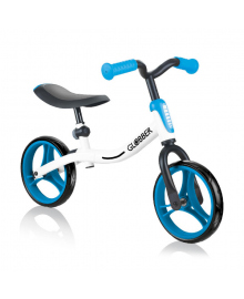 Беговел Globber Go Bike Белый/Синий