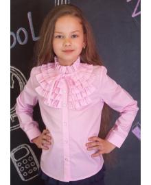 Шкільна нарядна блузка мод.2093 рожева Sweet мод.2093 розовый