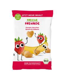 Палочки кукурузные органические Freche Freunde Клубника Банан 30 г