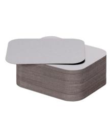 Кришка картонно-алюмінієва PRO service для контейнера 430мл, 100 шт (SP24L) 4823071630169