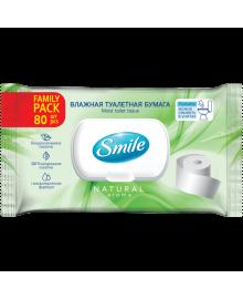 """Вологий туалетний папір Smile """"Family"""" 80 шт. 4823071642278"""