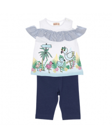 Комплект Silversun Flamingo family Blue KT115909, 8682113243981, 8682113296116