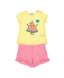 Комплект Silversun Friendly watermelon Yellow and Pink KT115964, 8682113182952, 8682113226533