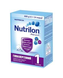 Cмесь сухая Nutrilon Гипоаллергенный 1, 600 г