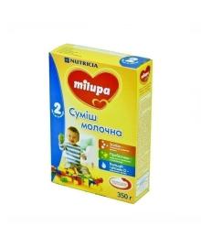 Смесь молочная сухая Milupa 2, 350 г