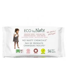 Органические салфетки Eco by Naty без запаха 56 шт ФР-00000028