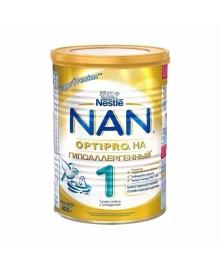 Cмесь Nestle NAN Гипоаллергенный 1 с рождения, 400 г