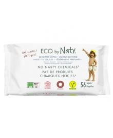 Органические салфетки Eco by Naty с легким запахом 56 шт ФР-00000027