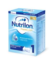 Смесь Nutrilon Premium 1, 600 г