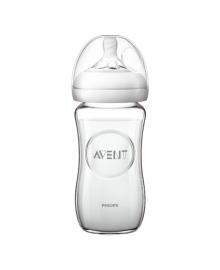 Бутылочка Philips Avent Natural стеклянная 240 мл