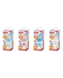 Бутылочка Nuk First Choice с контролем температуры 150 мл (в ассорт) 10743875, 4008600360032
