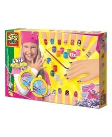 Игровой набор для юного нейл-арт мастера Ses Модница