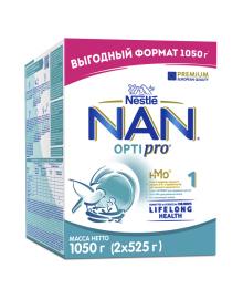 Смесь сухая молочная Nestle NAN Optipro 1, 1050 г