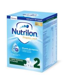 Смесь Nutrilon Premium 2, 1000 г