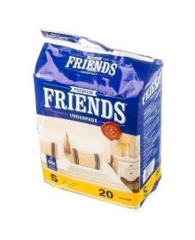 Пеленки одноразовые Friends Nobel Hygiene 40см х 60, 20 шт.