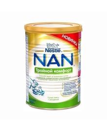 Смесь Nestle NAN Тройной комфорт с рождения, 400 г