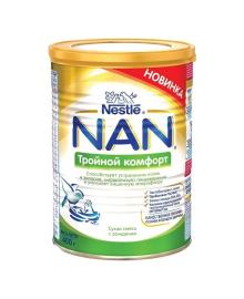 Молочная смесь Nestle NAN Тройной комфорт 800 г