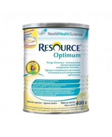 Смесь Nestle Resource Optimum с 7 лет, 400 г