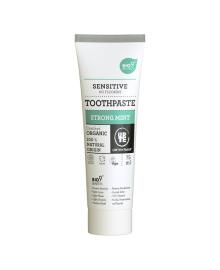 Органическая зубная паста Urtekram Bio9 Strong Mint Sensitive 75 мл