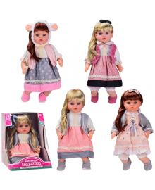 Лялька 'Найкраща подружка'PL-520-1802ABCD (24шт) м'яконабивна,4 види, 46 см,озв. укр.яз, в разобра 6310