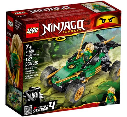 Конструктор Lego Ninjago Конструктор Рейдер Джунглей (71700)
