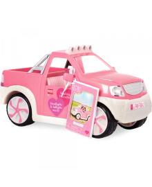 Транспорт для кукол  Джип розовый с FM радио LO37033Z