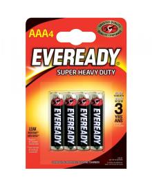 Батарейка EVEREADY AAA Super Heavy Duty 4шт.