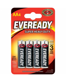 Батарейка EVEREADY AA Super Heavy Duty 4шт.