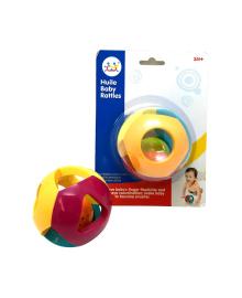 Погремушка Hola Toys Двойной шарик