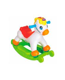 Лошадка-качалка Пони с музыкой