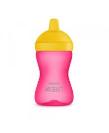 Чашка с носиком розовая 300 мл Philips Avent SCF804/04, 8710103855590
