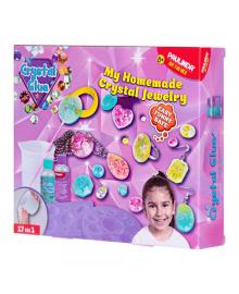 """Набор для творчества Crystal glue DIY """"Бижутерия 17 в 1"""""""