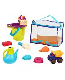 Набор для игры с песком и водой Battat Сумочка Лайм (BX1307Z)