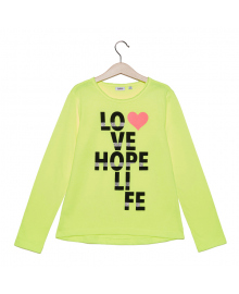 Джемпер BluKids Love hope life 5666885, 8055203570890