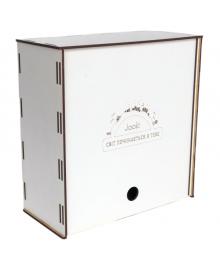 """Стильная деревянная подарочная коробка,размер """"M"""""""