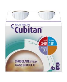 Пищевой продукт для специальных медицинских целей Nutricia Cubitan Chocolate flavour 4х200 мл