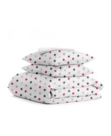 Комплект семейного постельного белья STAR ROSE WHITE StarRose_White_160x2