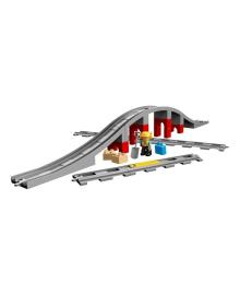 LEGO® DUPLO® Железнодорожный мост и рельсы 10872