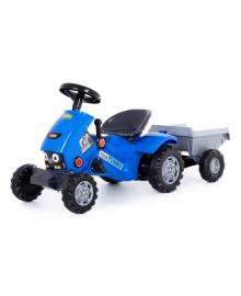 Трактор-каталка c прицепом Полесье Turbo до 50 кг