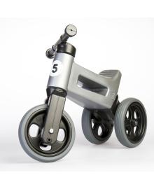 Беговел Funny Wheels Riders Sport серый