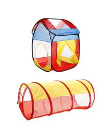 Палатка Maya Toys Домик с туннелем
