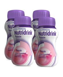 Пищевой продукт для специальных медицинских целей Nutricia Nutridrink Protein Strawberry flavour 4х125 мл