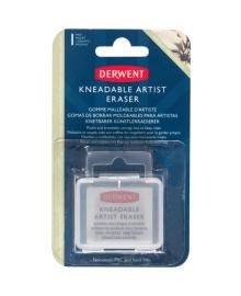 Ластик-кляча, в коробке, Derwent~#~Ластик-кляча, в коробці, Derwent~#~Kneadable Eraser in a Box Derwent 5028252607582