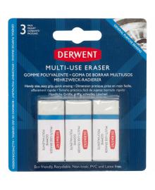 Набор ластиков Small Multi Purpose, 3шт, Derwent~#~Набір ластиків Small Multi Purpose, 3шт, Derwent~#~Small 5028252607438