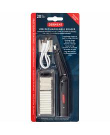 Ластик электрический с USB, Derwent 5028252607520
